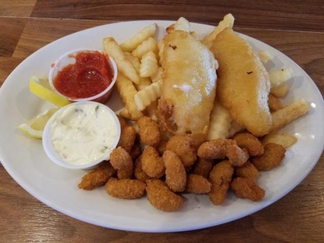 Cod & Shrimp Platter