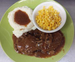 Salisbury Steak Platter